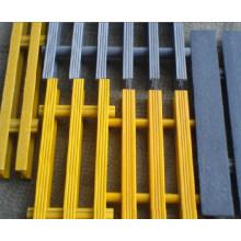 Caillebotis FRP / GRP, caillebotis en fibre de verre, grille pultrudée à haut pouvoir antidérapant