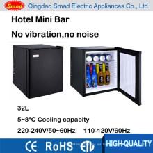 32L 110v 220v sin ruido hotel mini bar gabinete refrigerador