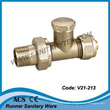 Brass Radiator Valve for Multilayer Pipe (V21-213)
