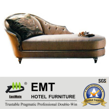 Nice Design Wooden Frame Chaise Longue (EMT-LC16)