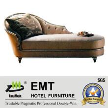 Nice Design Frame de madeira Chaise Longue (EMT-LC16)