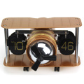 Horloge Flip Table Table Forme Avion