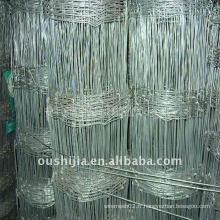 Clôture de maille métallique pour l'élevage en captivité des animaux de prairie (fabrication)