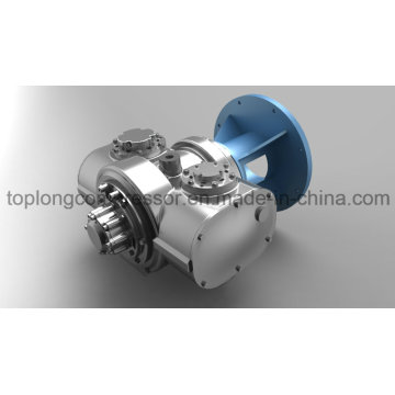 Hitachi Ölfreier Schraubenkompressor