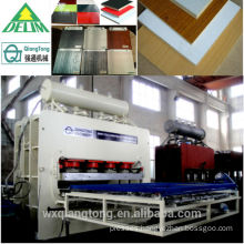 Short cycle hot press machine /SCL/ Forniture Board hot press machine