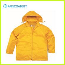 Высокое качество прочный Водонепроницаемый Мужской дождя куртка