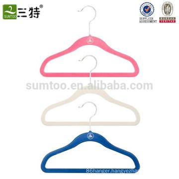 Kids velvet coat hangers