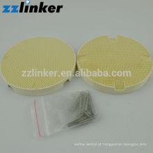 Bandeja de queima de favo de mel redonda dentária (alfinetes cerâmicos) / Laboratório dentário