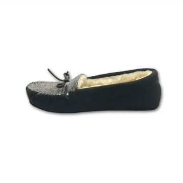 Design Mens Faux Suede Moccasins cotton bedroom Slippers