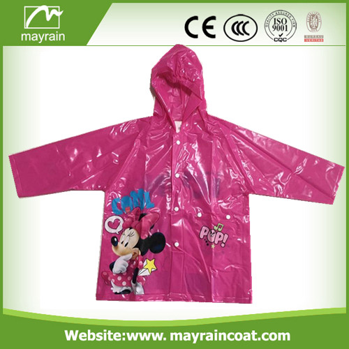 Transparent Child PVC Raincoat