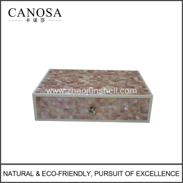 Hotel Amenities Pink Shell Amenity Boxes Wholesale
