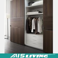 Meubles de chambre à coucher Armoire mitramé en mélamine (AIS-W013)