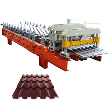 glazed metal roof tile installation machine