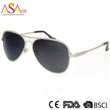 UV400 Защита Поляризованные высококачественные металлические очки (16010)