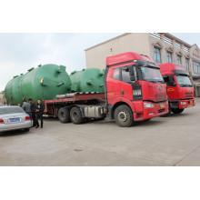Tanque de agua de acero al carbono para muchos tipos de tratamiento de agua