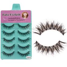 OEM Hot Sale 3D Handmade Natural Lashes Eyelashes