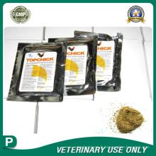 Médicaments vétérinaires de poudre granulaire polychimique (24%)