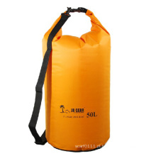 50l grande volume nylon impermeável tambor mochila saco seco (yky7237)