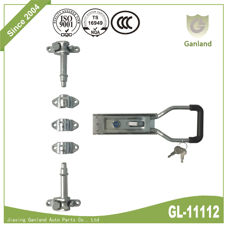 Steel Trailer Rear Door Lock