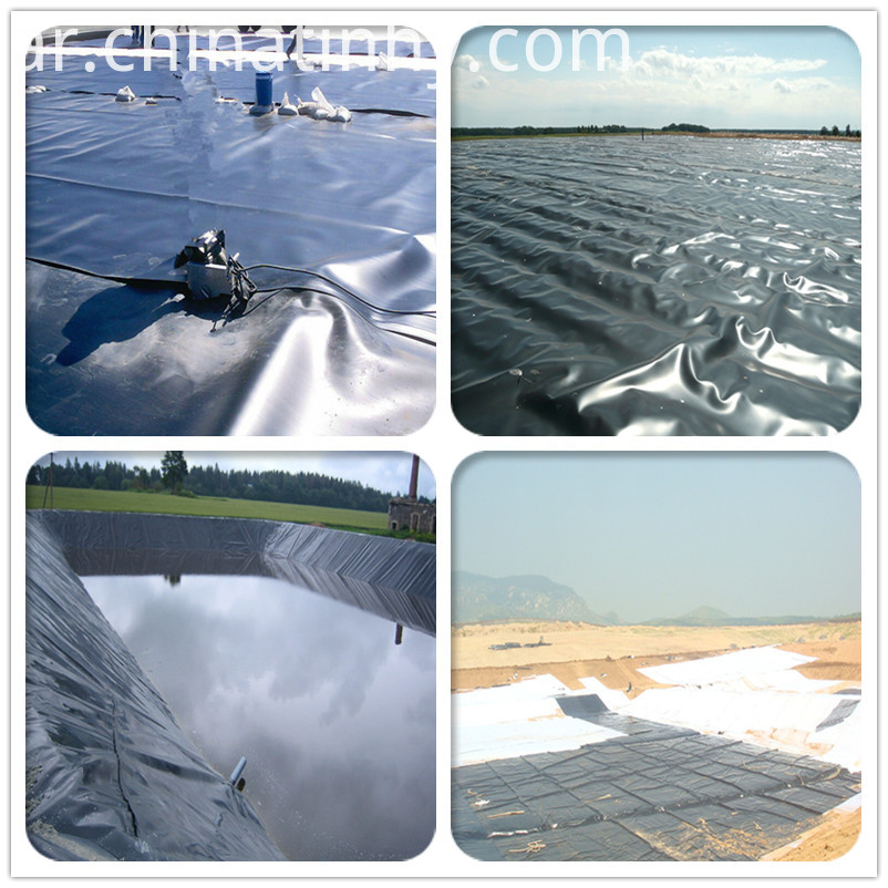 High-density Polyethylene Geomembrane for Lake