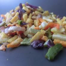 Coreia do Sul venda quente de vegetais fritos a vácuo misturados