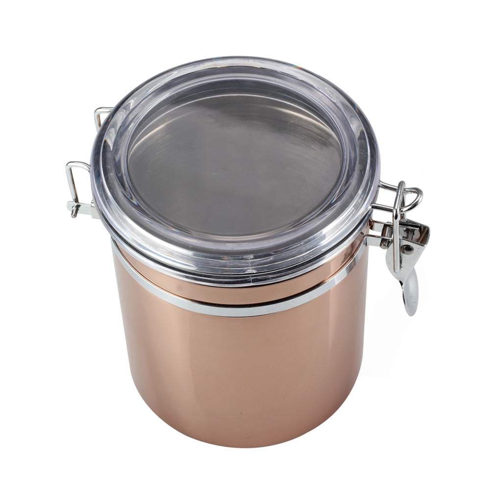 Copper Coffee Canister Coffee Canister
