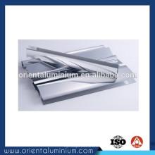 Extrusión de aluminio de pulido de alta calidad para puertas de ducha