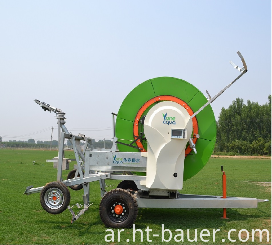 Hose reel irrigation from HT-BAUER