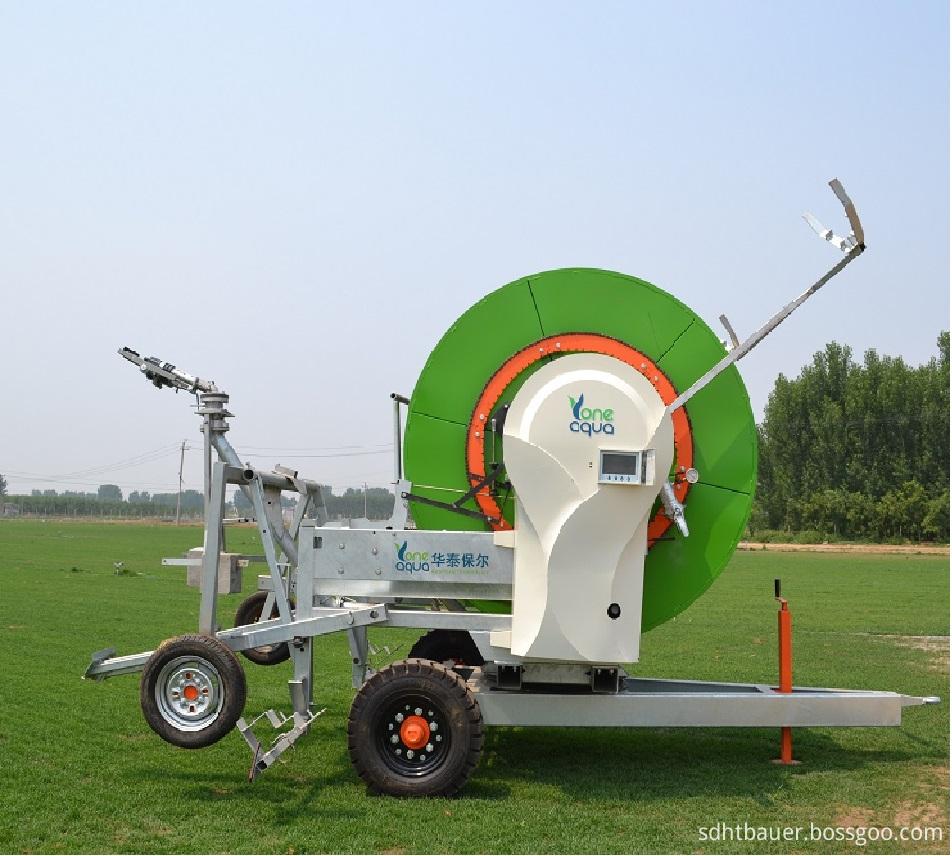 Hose reel irrigation from HT-BAUER