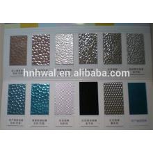 Miroir aluminium Anticorrosion PE / PVDF bobine en aluminium pré-colorée