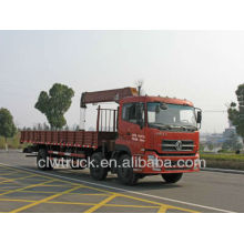 Hot Sale 3 axles Dongfeng boom truck crane,10 ton knuckle boom truck mounted crane