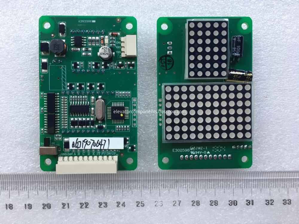 BVD121 Dot Matrix LED Display for Elevators