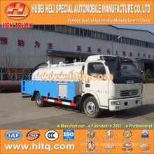 DONGFENG 4x2 LHD/RHD 5000L sewer flushing truck 120hp engine cheap price