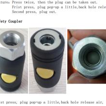 Acoplador Rápido de Segurança de Ar por Botão