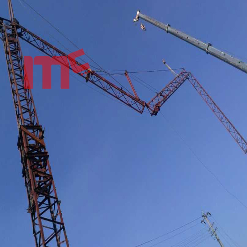 fast erection tower crane 4t