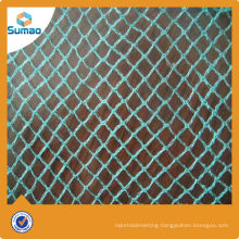 Extruded plastic bird netting to protect plants/trees