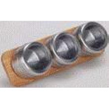 Stainless Steel Magnetic Spice Rack (CL1Z-J0604-3C)