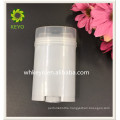 65g hot sale gary oval shape twist up plastic deodorant stick container