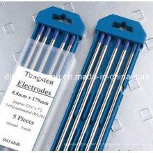 Eletrodo de tungstênio lantanado para soldagem por arco de argônio