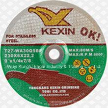 Нержавеющая сталь плоская форма шлифовального диска с дешевой цене