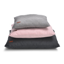 Polyester Cotton Cloth Pp Filling Pet Cushion Pillow Soft Kennel Dog Mat