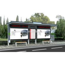 THC-107 abri extérieur avec publicité