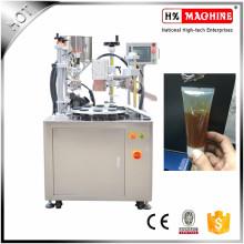 Máquina de llenado y sellado semi automática de la crema de la mano Máquina de llenado y sellado de plástico suave del tubo