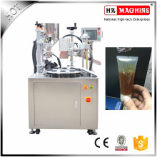 Semi Автоматическая Крем Для Наполнения И Запайки Пластиковых Мягкие Завалка Пробки И Машина Запечатывания