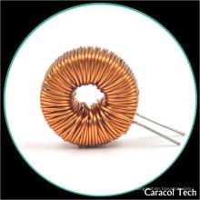 El inductor 20mh de las bobinas de obstrucción del modo común de la INMERSIÓN del precio de la fabricación del alambre de cobre de T18X10X7 0.5mm para la iluminación