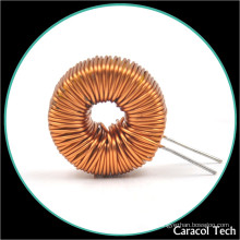 Customized Vertical ring inductor Common mode filtering With Base