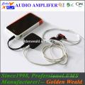 3,5-mm-Verstärker Kopfhörerverstärker Akku-Verstärker