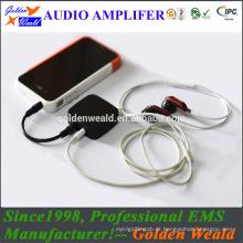 amplificador de potência de classe D amplificador de auscultadores amplificador de bateria recarregável