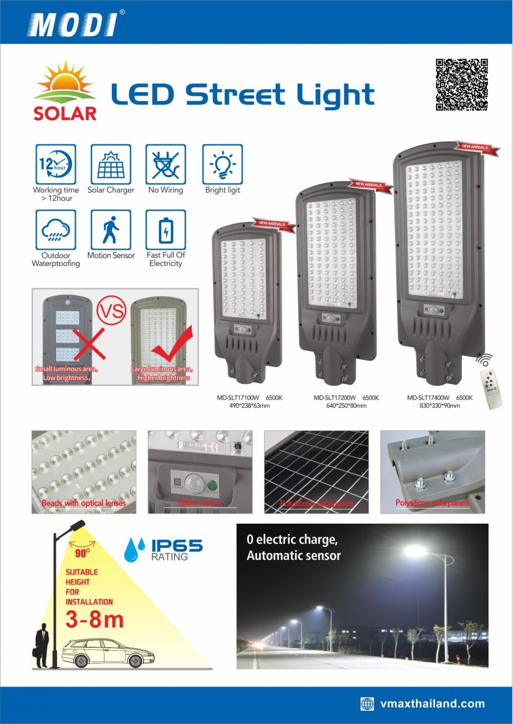 LED Solar Street Lights Outdoor