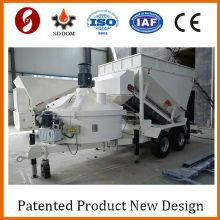 Patent MB1200 mobile concrete mixing plant,concrete batching plant,concrete plant